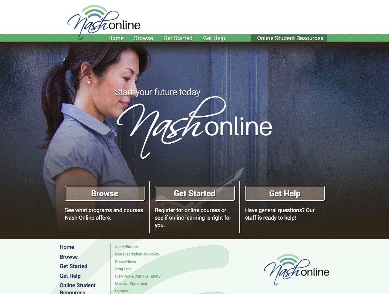 Nash Online Home